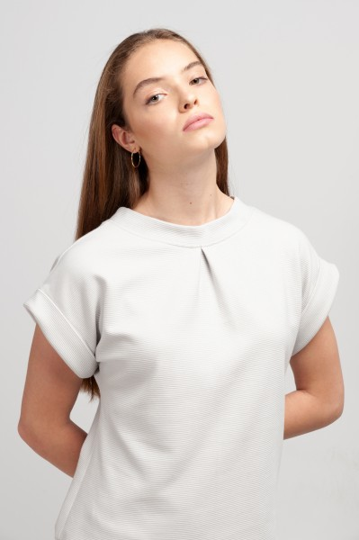 JANE SHIRT rib sweat