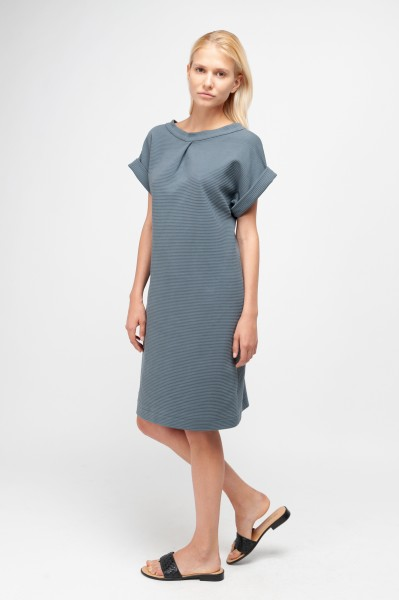 CAMILLE DRESS rib sweat