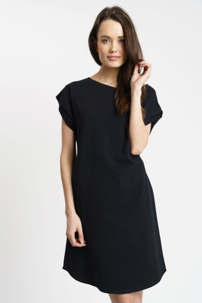 ELLIE DRESS cotton black
