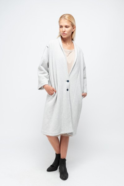 EILEEN COAT cotton fleece