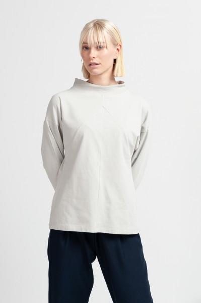 ANNIE JUMPER cotton pearl grey