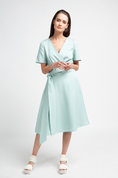 ALICIA DRESS tencel mint