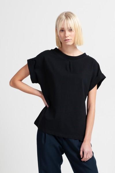 JANE SHIRT cotton black