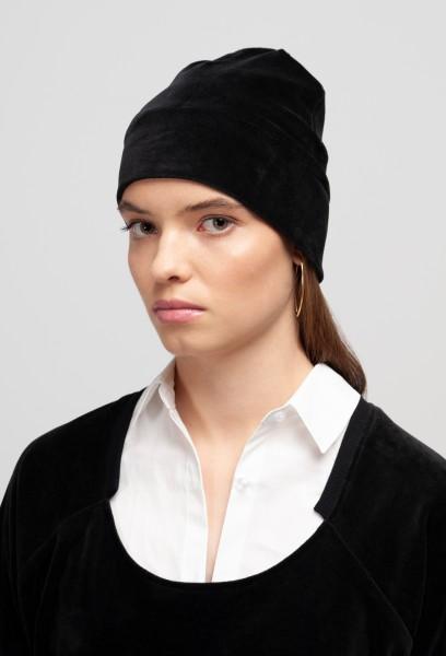 ALVA BEANIE black velvet