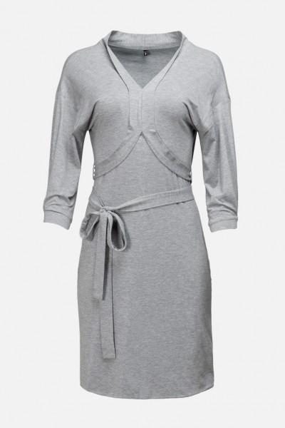 LAILA DRESS seacell dusty grey