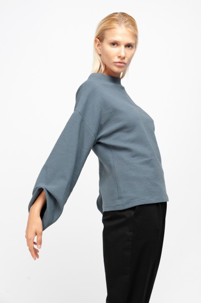 ZAHA JUMPER rib sweat