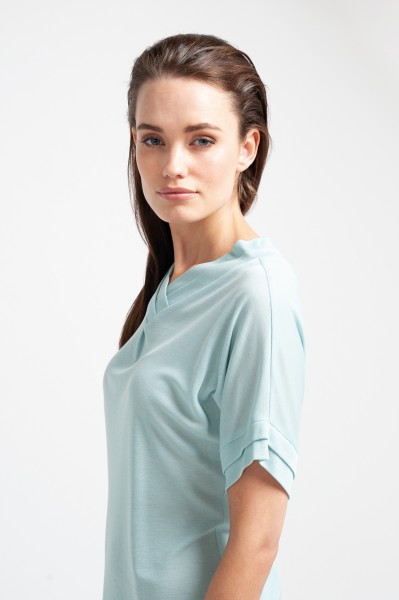 IRENA SHIRT tencel mint