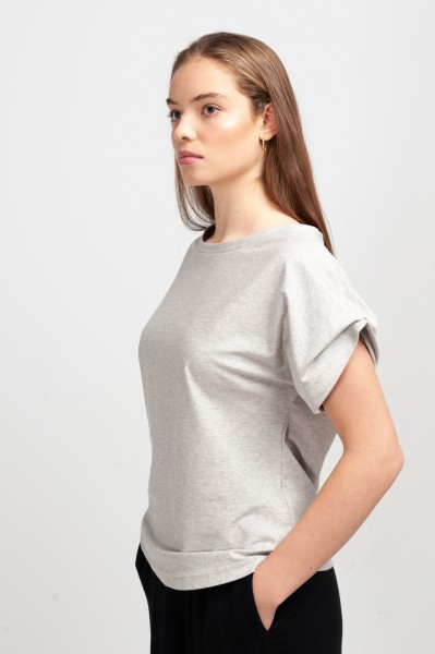 ELLIE BLOUSE dusty grey